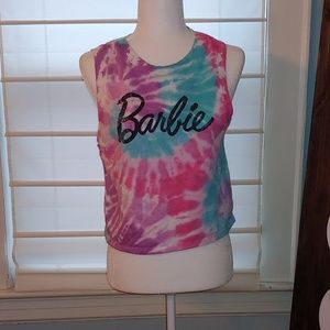Licensed Barbie muscle tee sweater shirt small